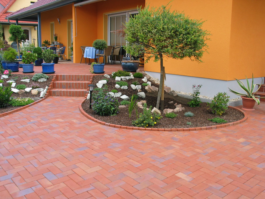 Garten und landschaftsbau l ssig terrassen - Garten strukturieren ...